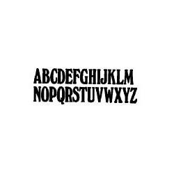 Tipo Letras N. 552  _3 Mm._