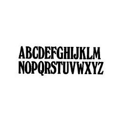 Tipo Letras N. 553  _4 Mm._