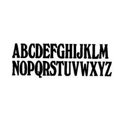 Tipo Letras N. 554  _6 Mm._