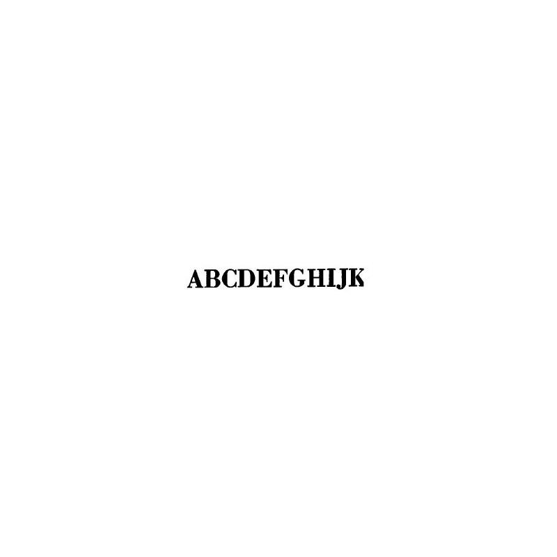 Tipo Letras N. 559  _5 Mm._