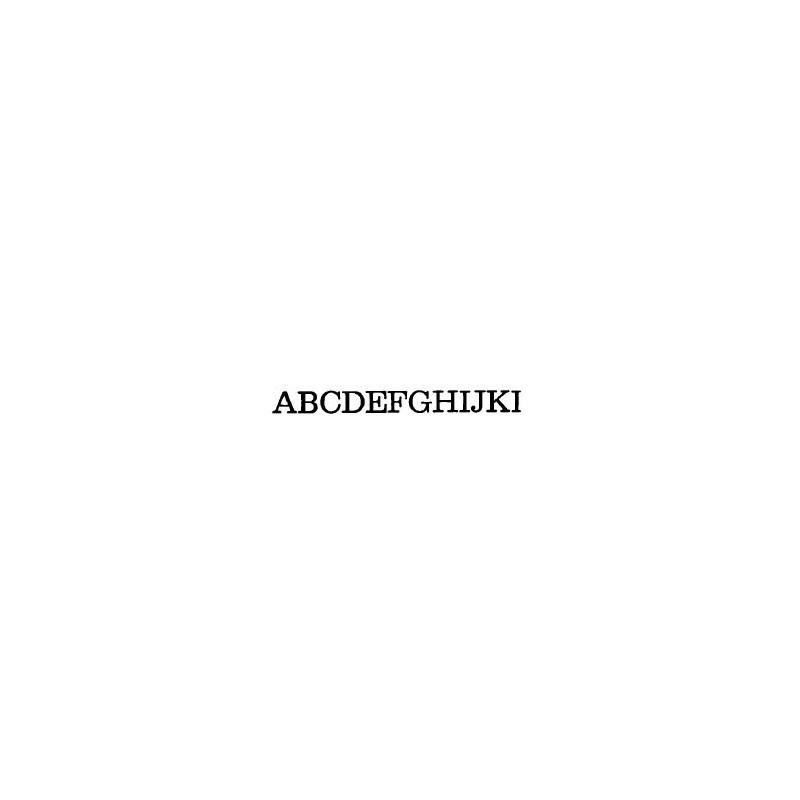 Tipo Letras N. 563  _3 Mm._