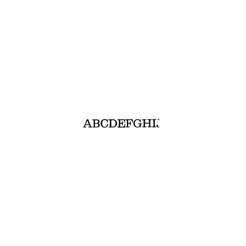 Tipo Letras N. 564  _4 Mm._