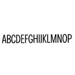 Tipo Letras N. 575  _4 Mm._