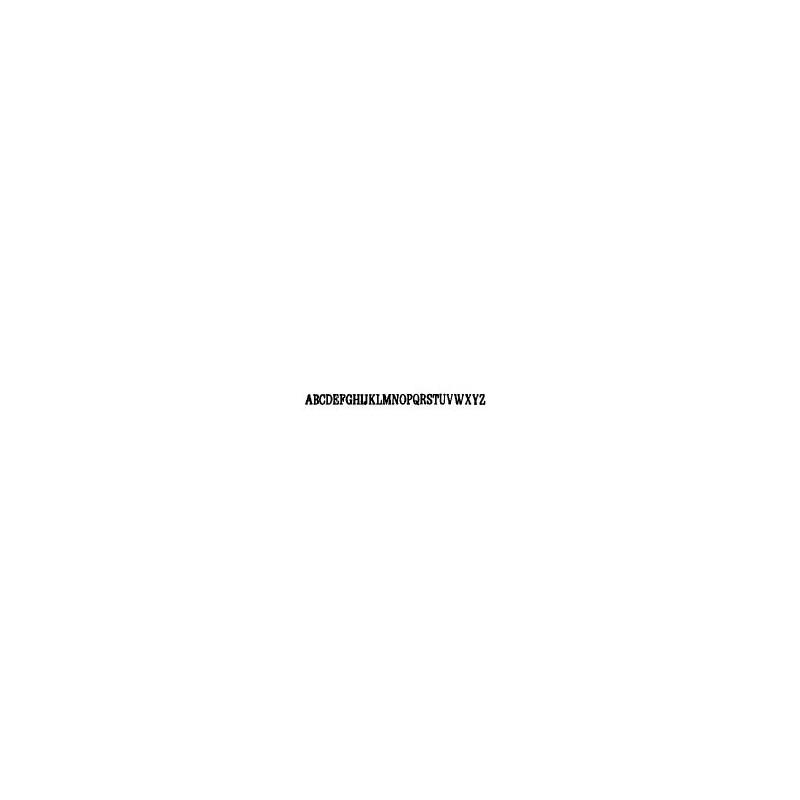 Tipo Letras N. 576  _5 Mm._
