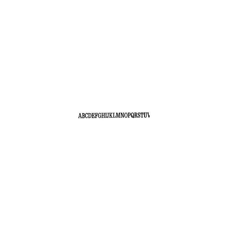 Tipo Letras N. 578  _7 Mm._