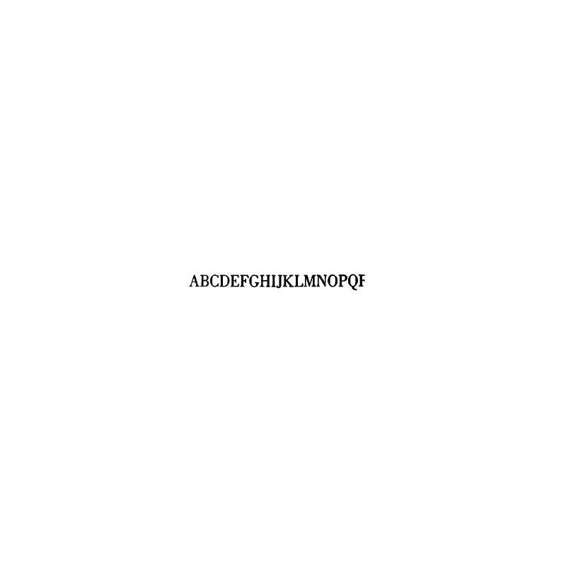 Tipo Letras N. 584  _7 Mm._