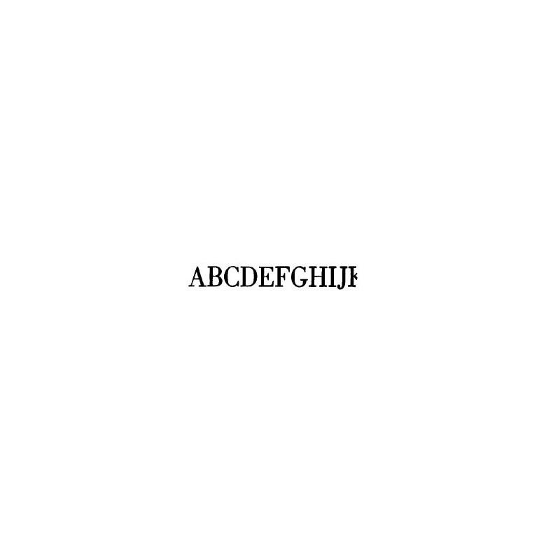 Tipo Letras N. 587  _4 Mm._