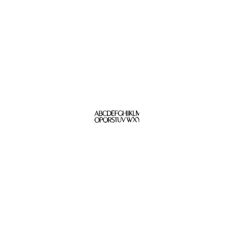 Tipo Letras N. 590  _7 Mm._