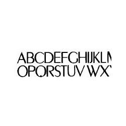 Tipo Letras N. 591  _2 Mm._