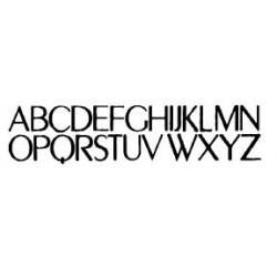 Tipo Letras N. 592  _3 Mm._