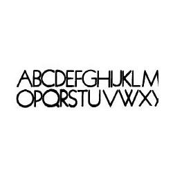 Tipo Letras N. 595  _6 Mm._